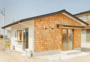 パン屋さんと木造ドミノの家